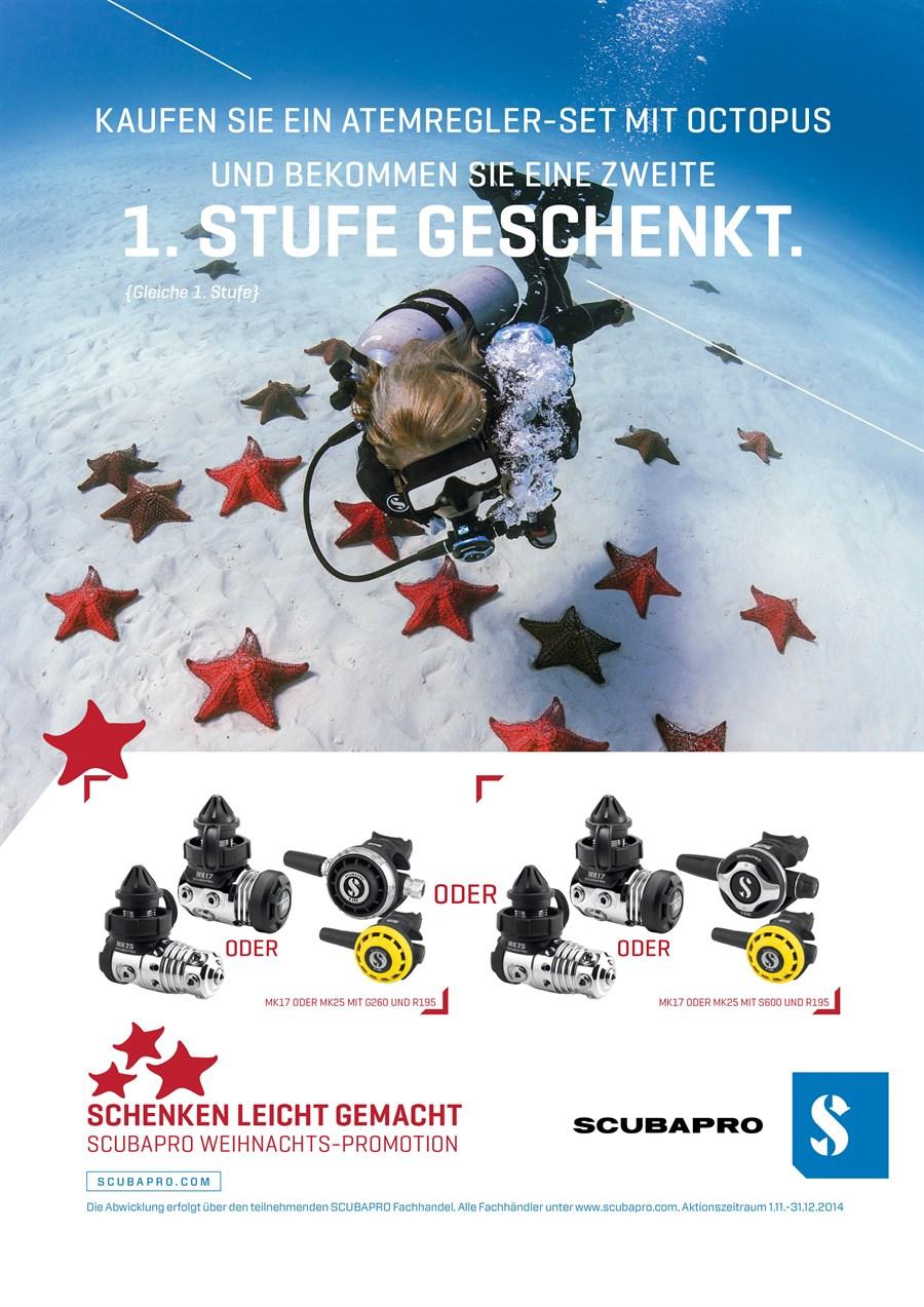 Scubapro Aquanaut Weihnachten Geschenk - aquanautaquanaut